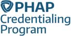 PHAP Credentialing programe logo
