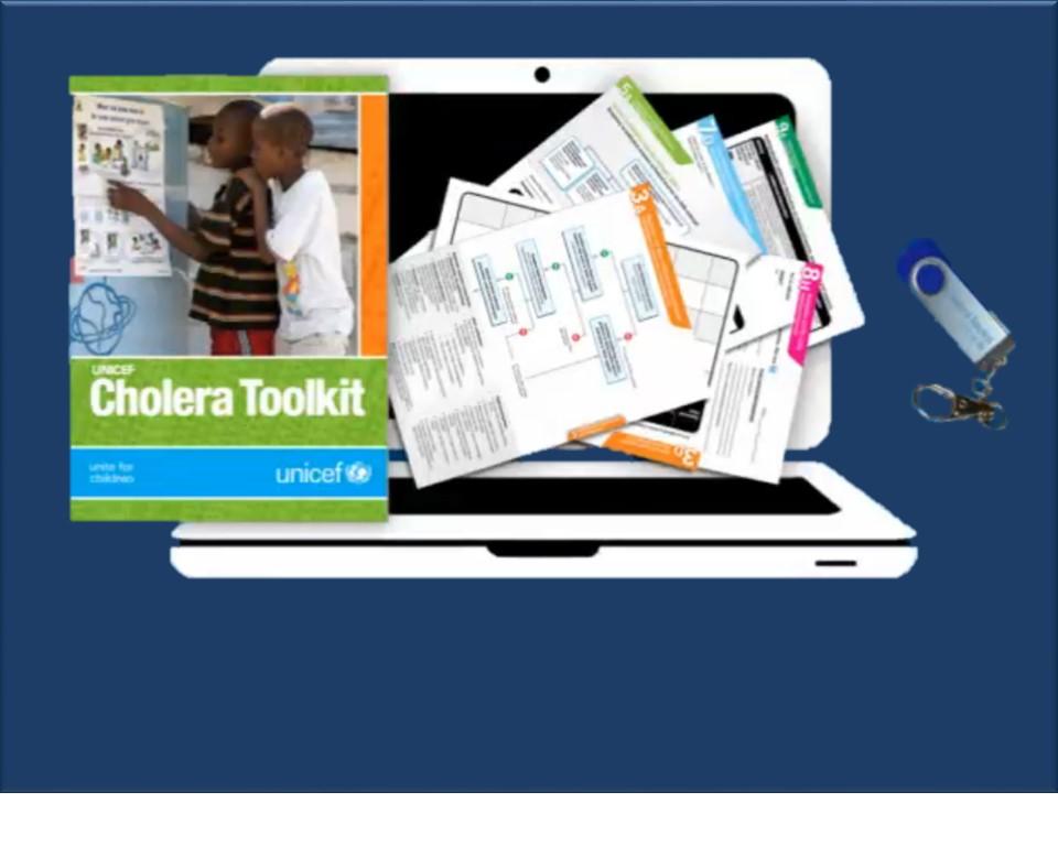 UNICEF's cholera toolkit