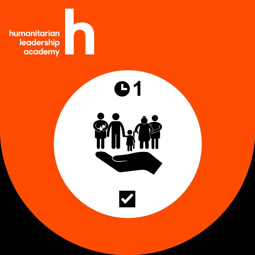 Humanitarian Leadership Academy safeguarding badge