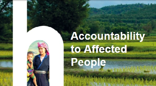 Being Accountable to Affected People