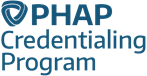The PHAP Credentialing Program logo