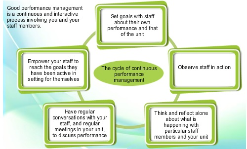 Managing individuals: Managing performance