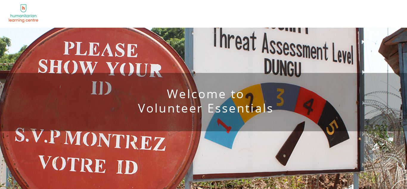 Volunteer Essentials Pathway