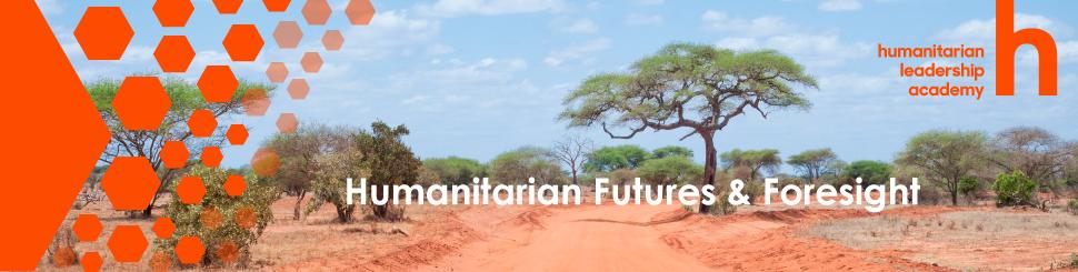 humanitarian foresight banner